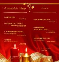 Weihnachtskonzert 2017 Programm