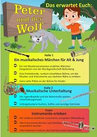 Peter und der Wolf Programm